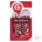 Moscow smoked sausage Globino sliced 80g - buy, prices for Furshet - image 2