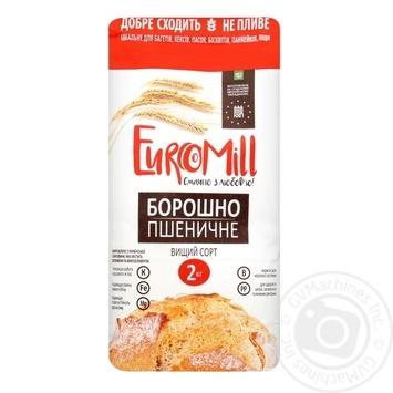 Мука EuroMill пшеничная высший сорт 2кг