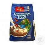 Завтрак сухой Oho шоколадный рис 500г