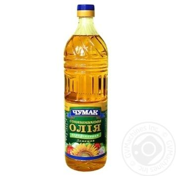 Chumak Homemade Unrefined Sunflower Oil 900ml - buy, prices for MegaMarket - image 1