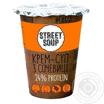 Крем-суп Street Soup из чечевицы 50г - купить, цены на Ашан - фото 1