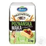 Мука пшеничная Melvit Познанское 1кг