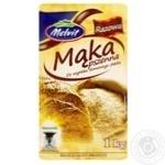Борошно пшеничне грубого помелу Melvit 1кг