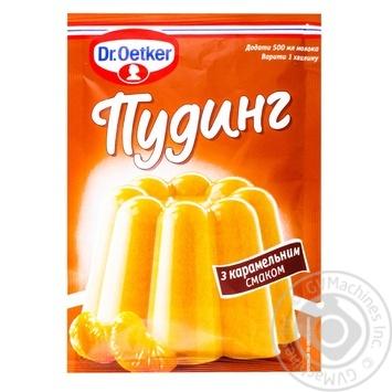 Пудинг Др.Оеткер з карамельним смаком 40г - купити, ціни на Novus - фото 1