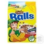 Завтрак сухой Bona Vita зерновые шарики с какао 375г