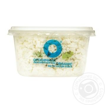 Сир кисломолочний Organic Milk нежирний 0,2% 300г - купити, ціни на Ашан - фото 1