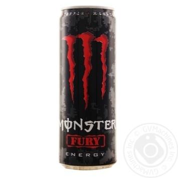 Напиток энергетический Monster Energy Fury безалкогольный 355мл - купить, цены на МегаМаркет - фото 1