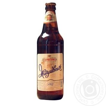 Пиво Калужское Экспортовое Жигулевское светлое 3,5% 0,5л - купить, цены на МегаМаркет - фото 1