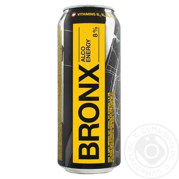 Bronx energy low-alcoholic drink can 8% 0,5l - buy, prices for Novus - image 1
