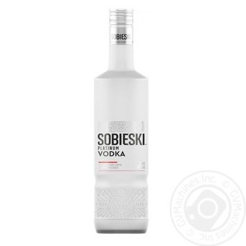 Sobieski Platinum vodka 40% 0,5l - buy, prices for Novus - image 1