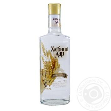 Hlibniy Dar Pshenychna vodka 40% 0,37l - buy, prices for Novus - image 1