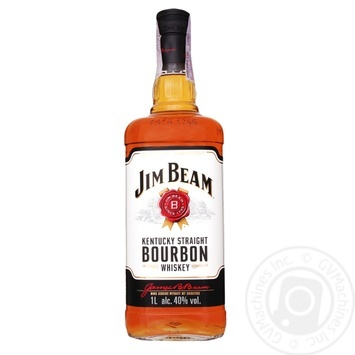 Виски Jim Beam White Bourbon 40% 1л