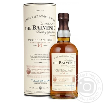 Balvenie Caribbean Cask Whiskey 14 yrs 42% 0,7l - buy, prices for Novus - image 1