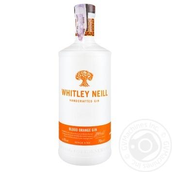 Джин Whitley Neill Blood Orange Сицилийский апельсин 43% 0,7л - купить, цены на Novus - фото 1