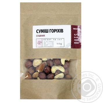 Суміш горіхів Novus сушених 100г - купити, ціни на Novus - фото 1