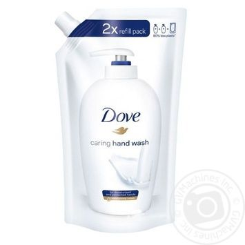 Жидкое крем-мыло Dove Красота и уход 500мл - купить, цены на Novus - фото 1