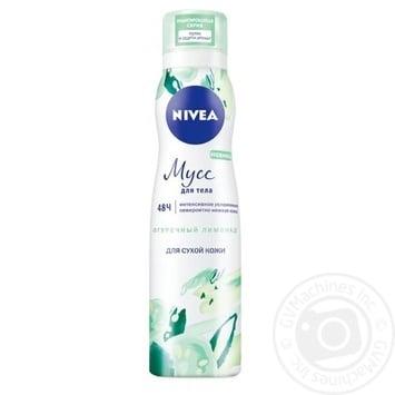 Мусс Nivea для тела Огуречный лимонад 200мл - купить, цены на Novus - фото 1