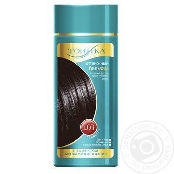 Бальзам для волосся Тоніка 1.03 відтінковий з ефектом біоламінування Еспрессо флакон 150мл