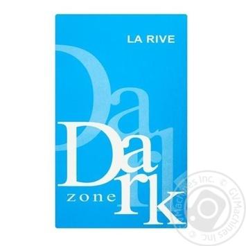 Чоловіча туалетна вода DARK ZONE , La Rive 90 мл - купить, цены на Novus - фото 1