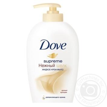 Жидкое крем-мыло Dove Нежный шелк 250мл
