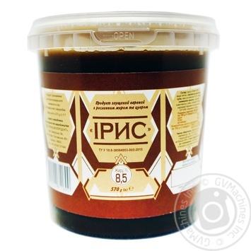 Продукт сгущеный Полтавочка Ирис вареный з растительным жиром и сахаром 8,5% 570г - купить, цены на Novus - фото 1