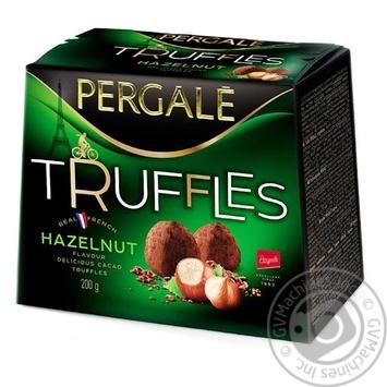 Конфеты Pergale Truffles Hazelnut 200г - купить, цены на ЕКО Маркет - фото 1