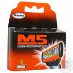Personna М5 For Shawing Razor Men's Replaceable Cartridges 4pcs