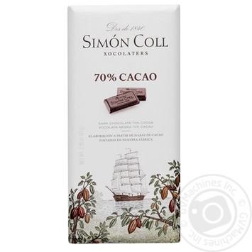 Шоколад Simon Coll 70% 85г
