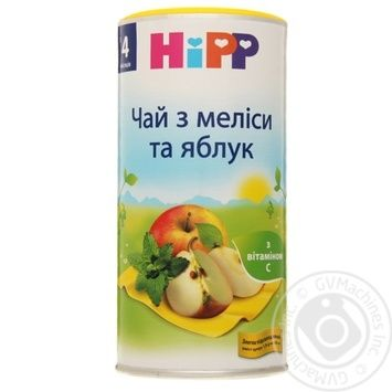 Baby herbal tea Hipp with melissa and apples for 4+ months babies 200g Austria - buy, prices for Novus - image 1