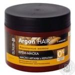 Крем-маска Dr.Sante Argan Hair Роскошные волосы масло арганы и кератин восстановление для поврежденных волос 300мл