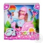 Кукольный набор Simba Evi Love на скутере