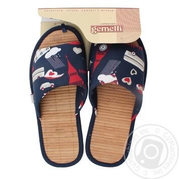 Домашняя обувь Gemelli Гроза женская
