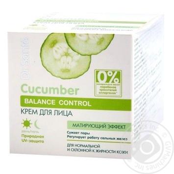Dr.Sante Face cream Cucumber 50ml - buy, prices for Novus - image 1