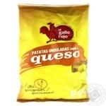 Чипсы El Gallo Rojo картофельные со вкусом сыра  150г