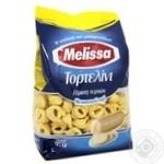Макаронные изделия Melissa тортеллини копченый сыр яичные 250г