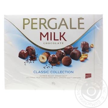 Ассорти конфет Pergale Milk Classic Collection 126г