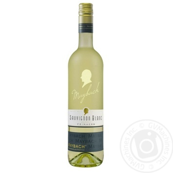 Вино Maybach Sauvignon Blanc Feinherb белое полусухое 11% 0,75л