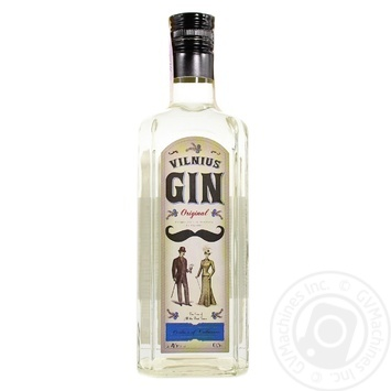 Джин Vilnius Original 45% 0,5л