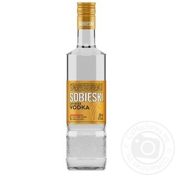 Водка Sobieski superior 40% 0,5л