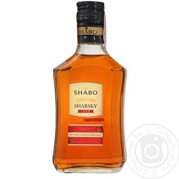Бренді Shabo Шабський L.U.X.E. 40% 0,25л - купити, ціни на CітіМаркет - фото 1