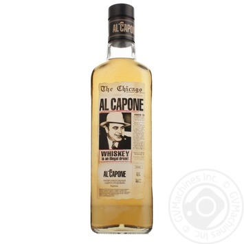 Al Capone Single Malt 40% Alcoholic Drink 0,5l - buy, prices for Furshet - image 1
