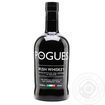 Виски The Pogues Irish 40% 0,7л