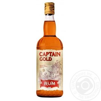Ром Captain Gold 37,5% 0,7л