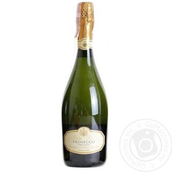 Вино ігристе Porta Leone Prosecco Extra Dry Treviso DOC біле сухе 11% 0,75л - купити, ціни на Novus - фото 1