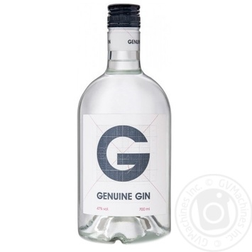 Джин Genuine 0,7л - купить, цены на Novus - фото 1