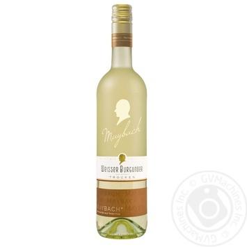 Вино Maybach Grauer Burgunder Trocken белое сухое 12% 0,75л