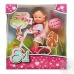 Игрушка Simba Toys Ева кукла на велосипеде - купить, цены на Novus - фото 1