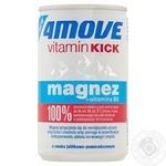 Напиток 4Move со вкусом яблока и апельсина с добавлением магния и витаминов 0,15л - купить, цены на Novus - фото 1