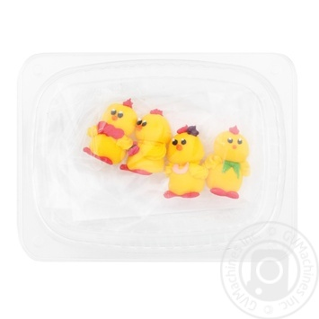 Dobryk Funny Chickens Confectionery Decor 19g - buy, prices for EKO Market - photo 2