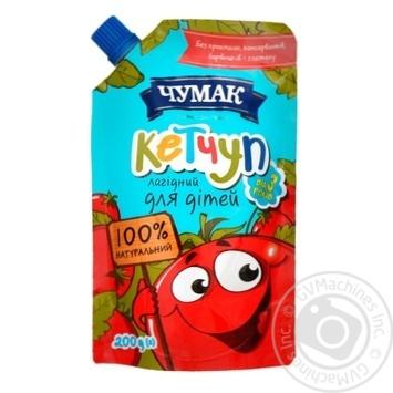 Кетчуп Чумак Нежный для детей 200г - купить, цены на Novus - фото 3